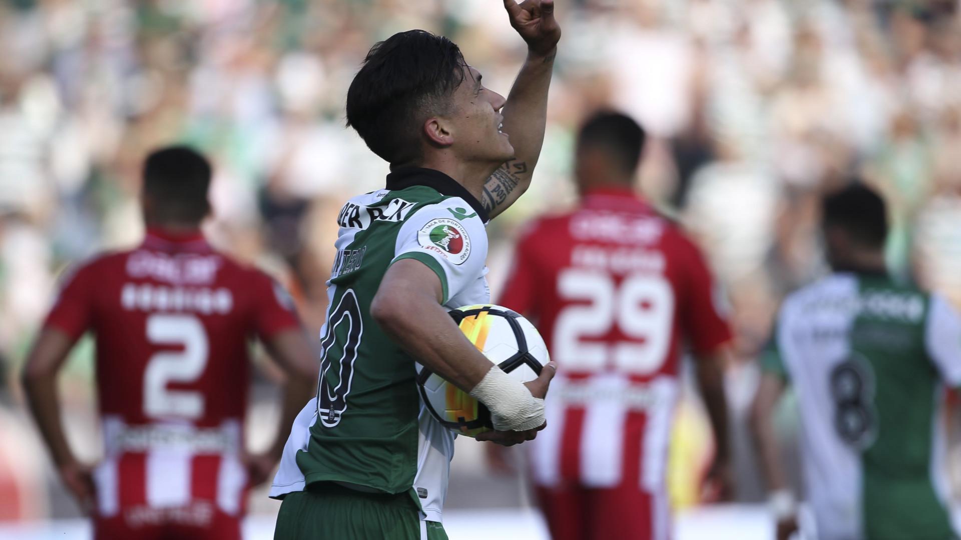 """Montero anuncia adeus ao Sporting: """"Último ano em Portugal"""""""