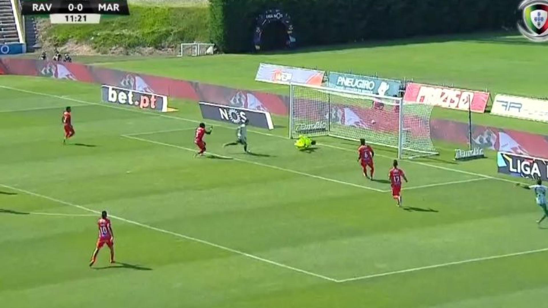 Bruno Moreira dá vantagem ao Rio Ave diante do Marítimo