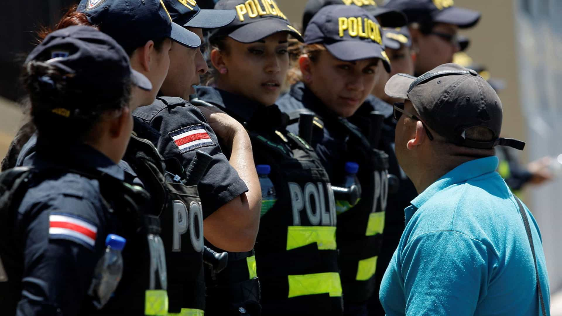 Manifestação xenófoba inédita e violenta na Costa Rica