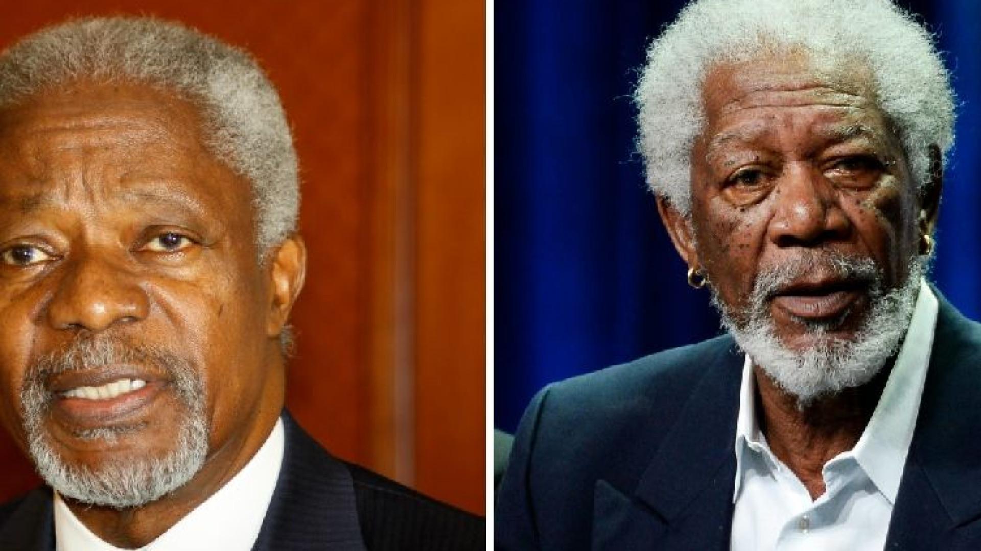 """O dia em que Kofi Annan deu um autógrafo e assinou """"Morgan Freeman"""""""