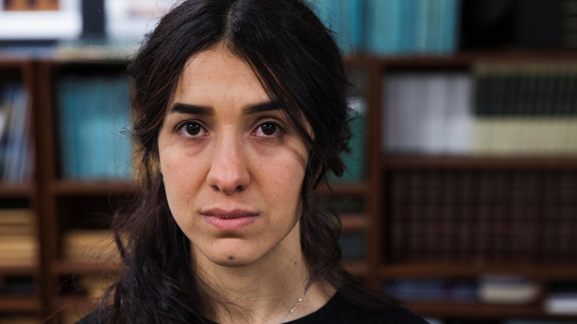 """Prémio Nobel para Nadia Murad é uma """"honra para os iraquianos"""""""