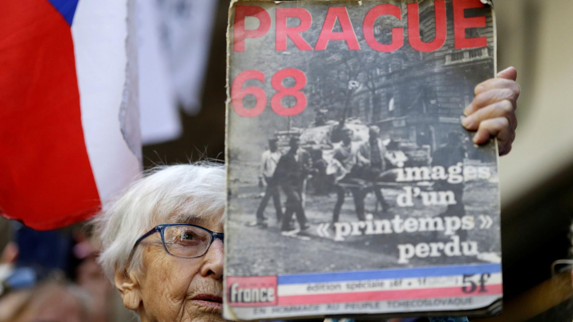 """Lutar pela liberdade """"é a melhor forma de homenagear Primavera de Praga"""""""