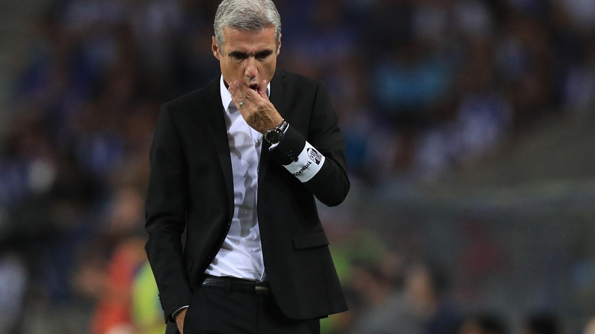 Luís Castro quer vencer o Rio Ave para se aproximar do Benfica