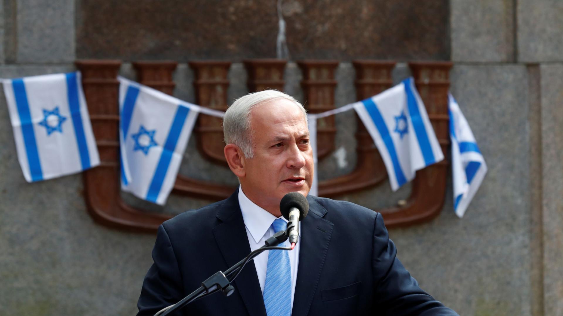 Netanyahu diz a Putin que vai continuar a combater presença militar