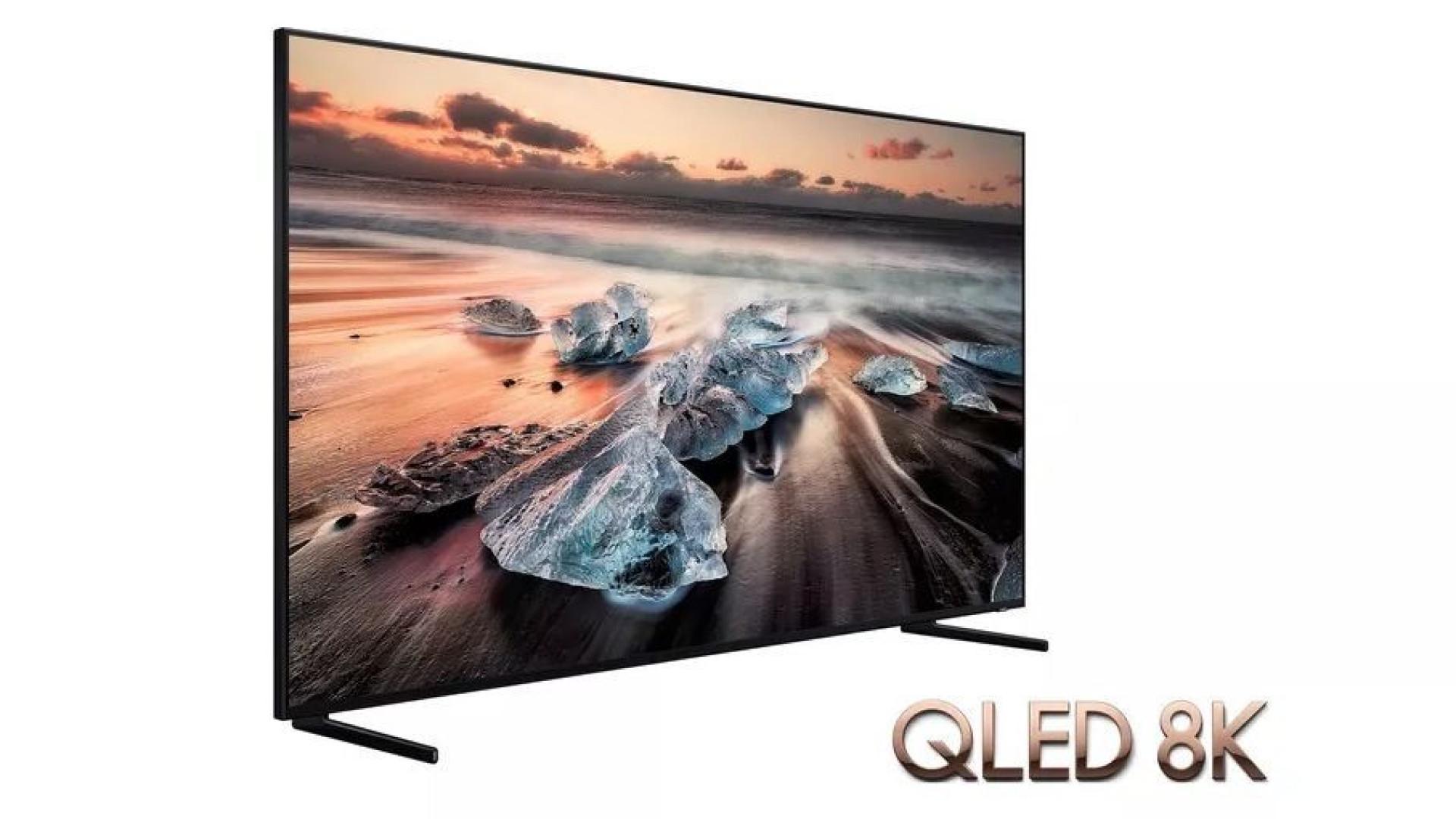 Samsung lançará no mercado uma televisão 8K