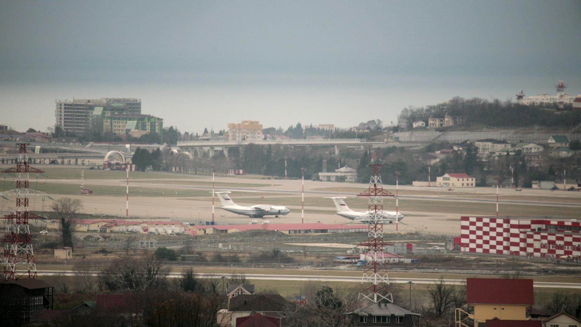 Acidente com avião na Rússia provoca 18 feridos