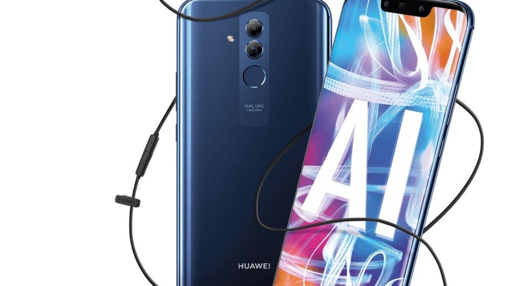 Huawei Mate 20 Lite chega hoje às lojas