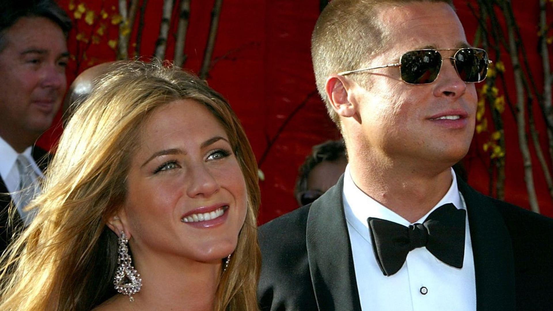 Brad Pitt enviou presente de aniversário a Jennifer Aniston
