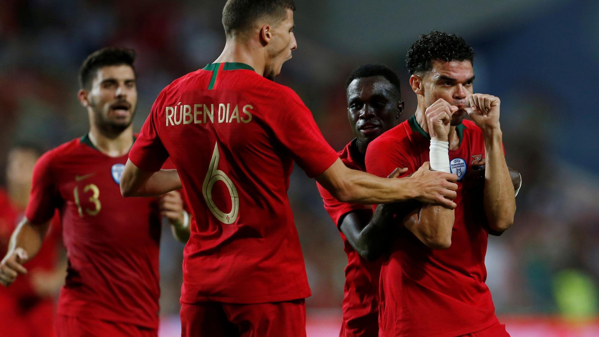 Croácia serviu de 'prenda' para Sérgio, Gedson e... Pepe