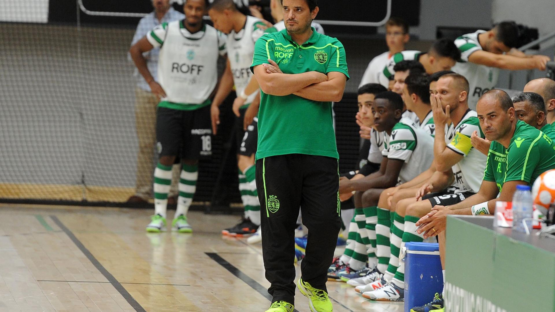 Futsal: Sporting 'esmaga' Fabril e vence Supertaça