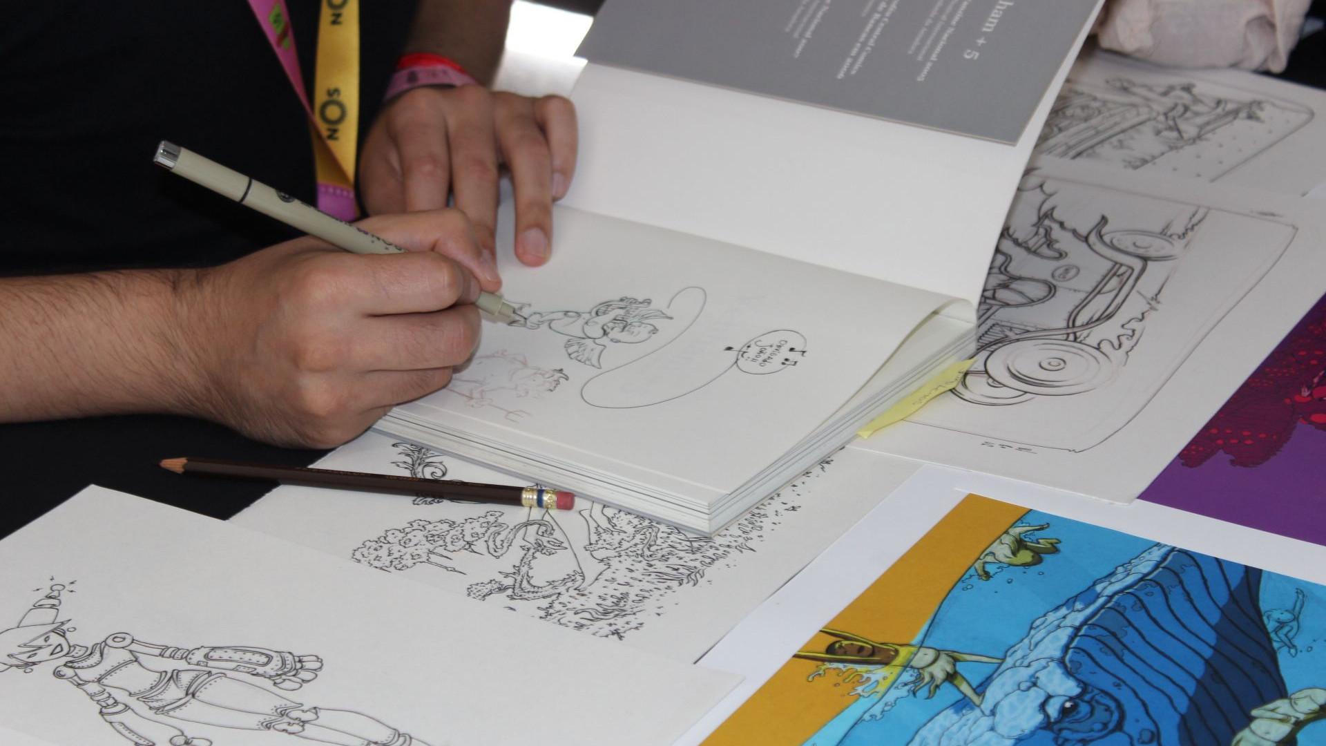A Comic Con desenhada pelos artistas nacionais