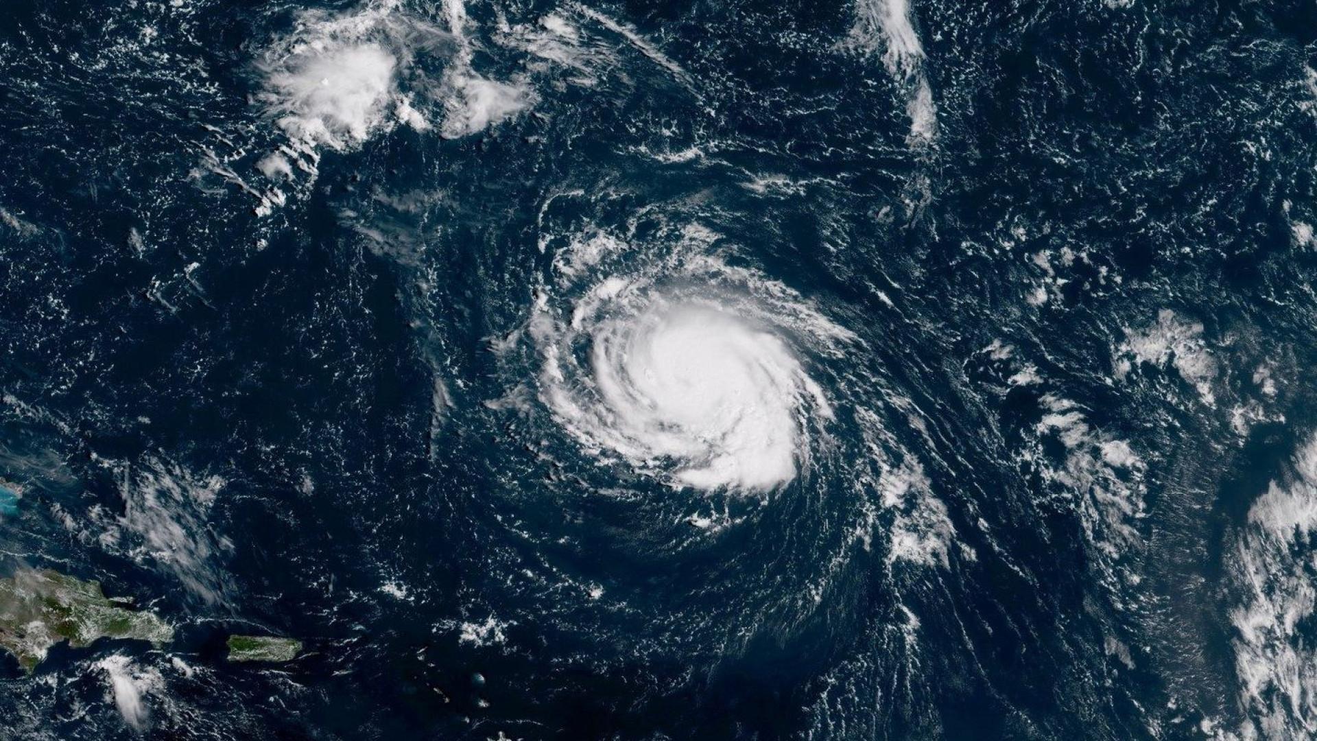 Furacão Florence atingiu a costa da Carolina do Norte
