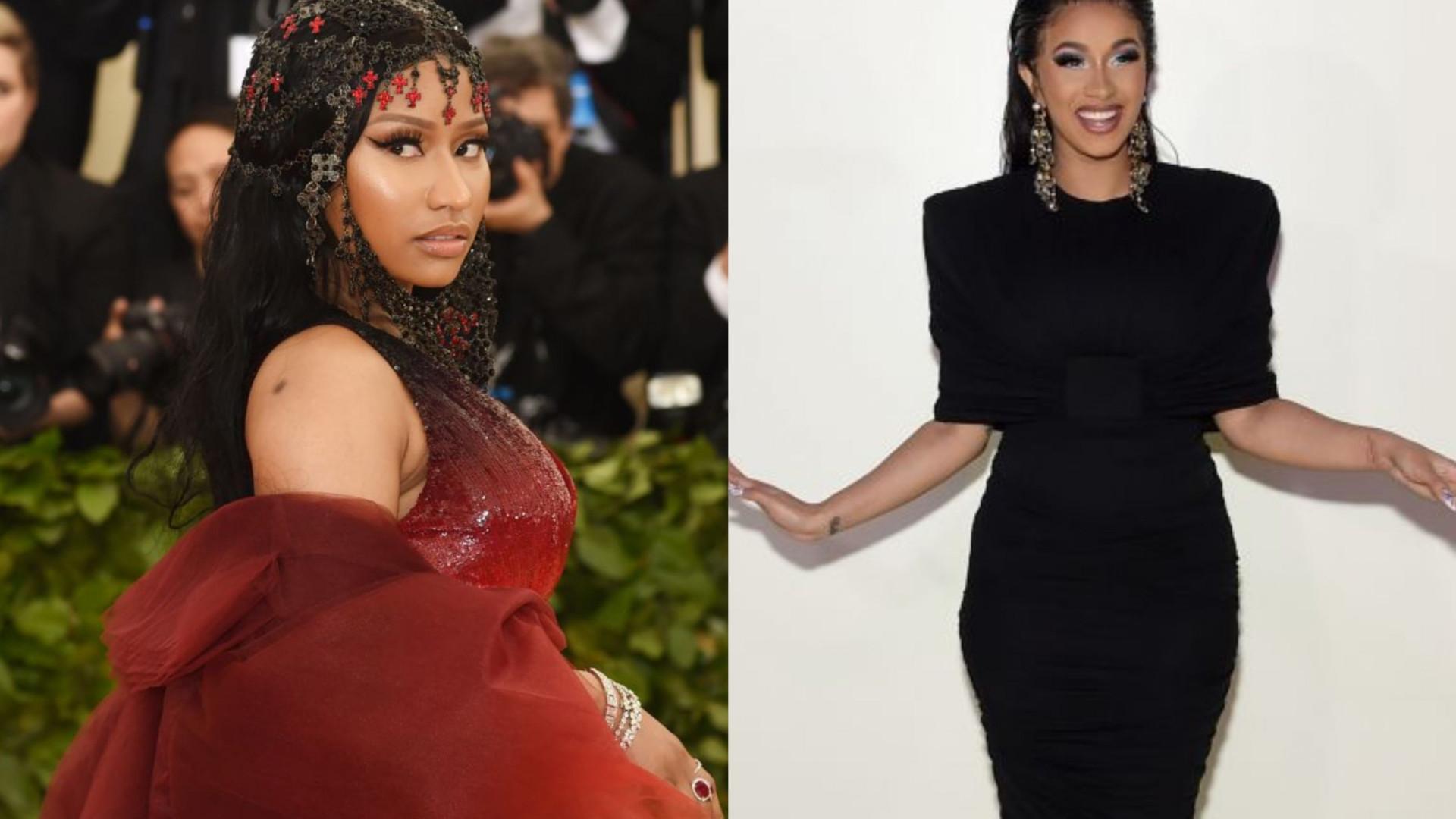 Nicki Minaj quebra silêncio após luta física com Cardi B