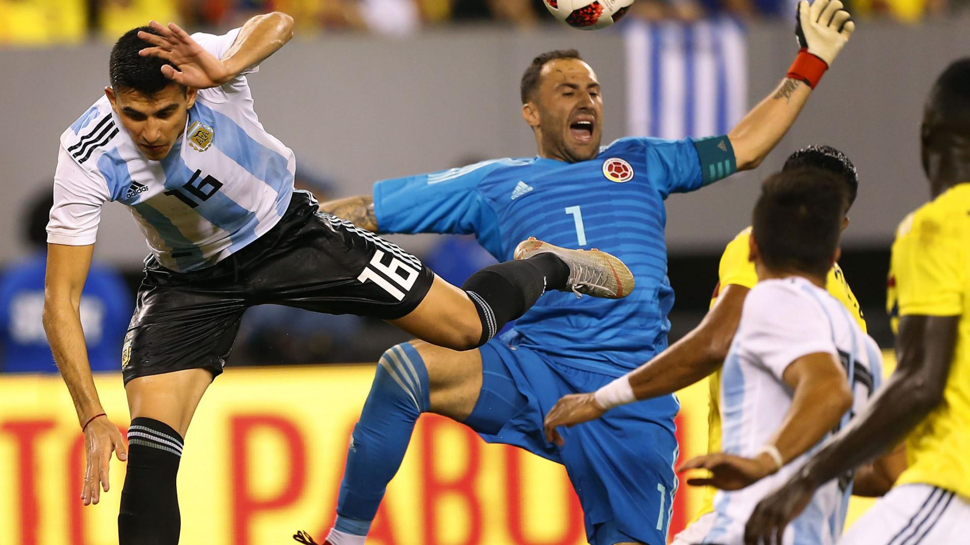 Battaglia estreia-se (e logo a titular) pela seleção argentina