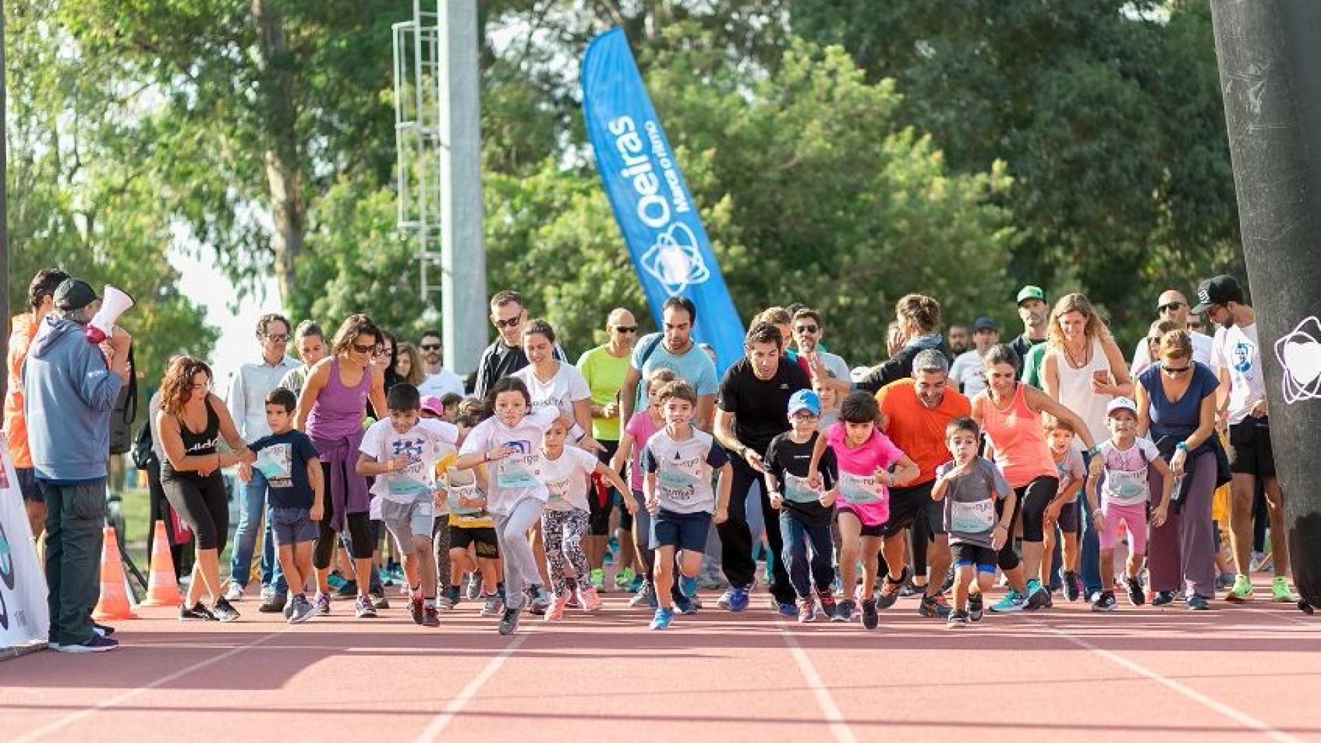 Corrida do Tejo Kids leva muita animação a pequenos atletas