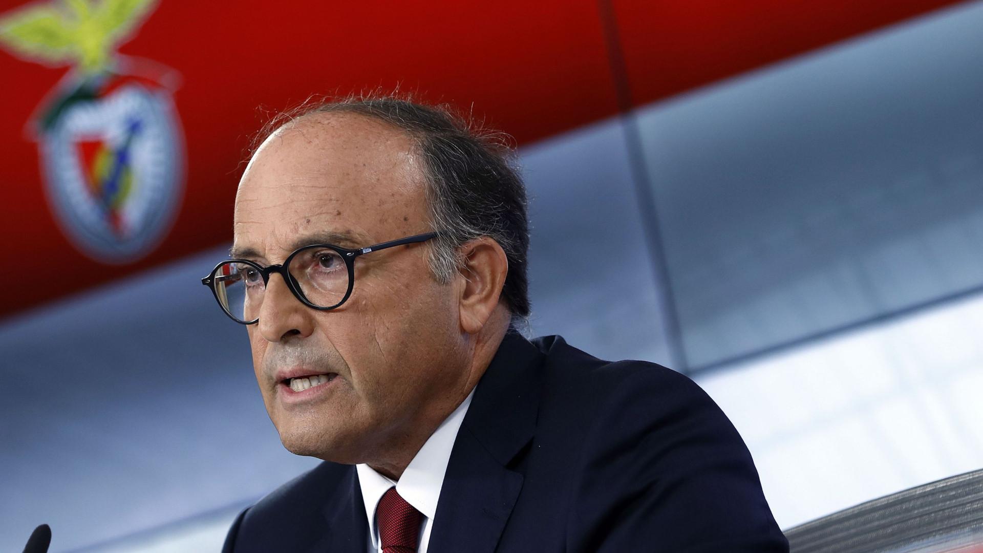 Benfica reage à intenção do FC Porto de processar Varandas Fernandes