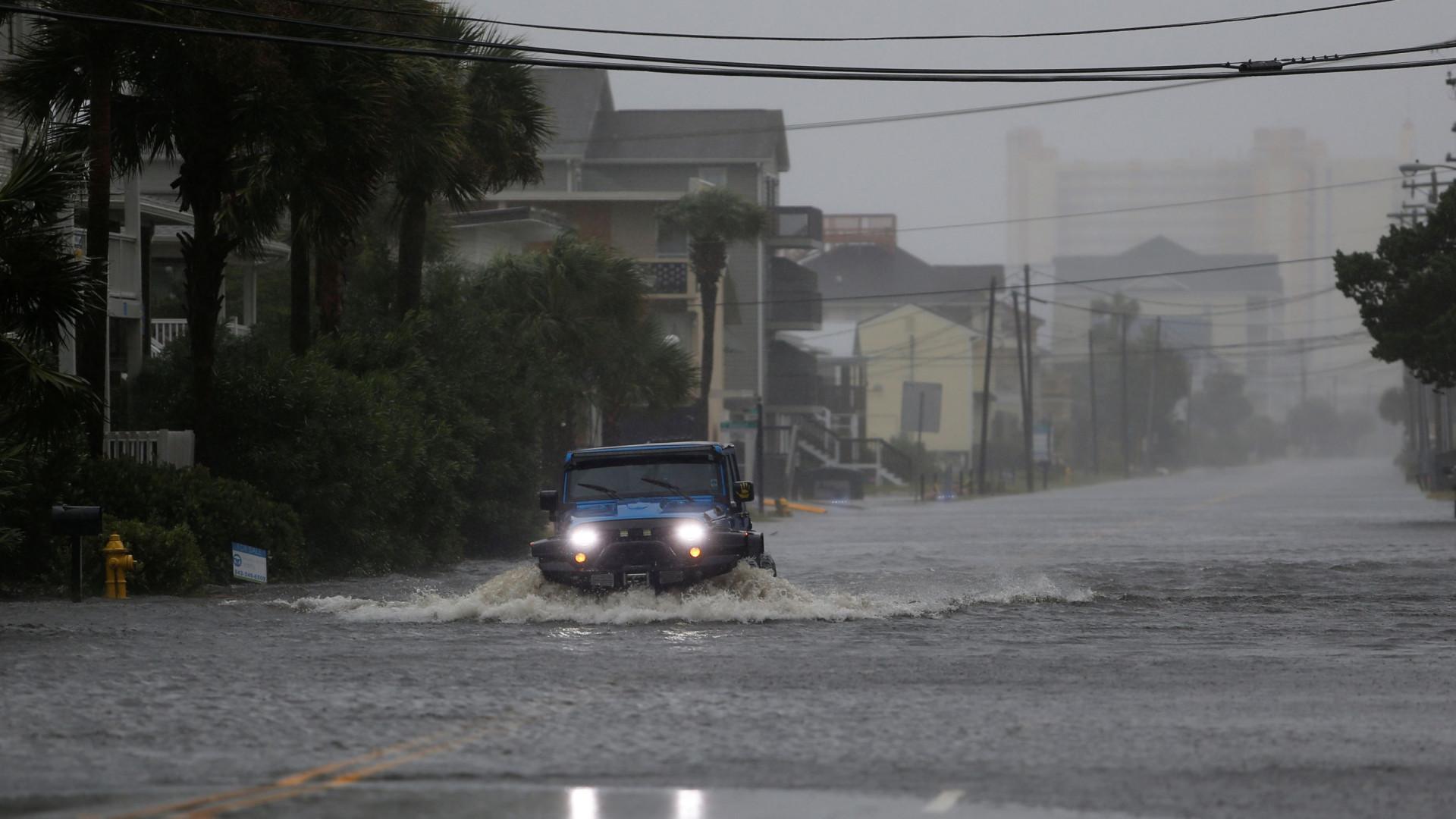 """""""Não há cidadãos portugueses"""" entre os afetados pelo furacão Florence"""