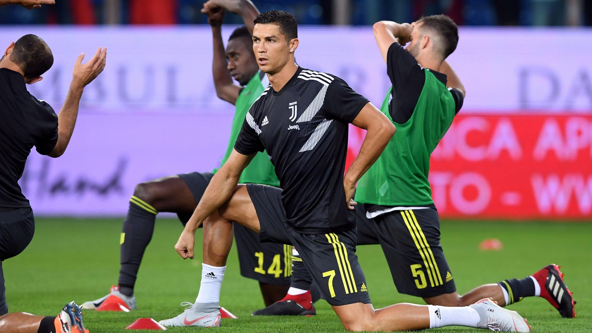 Allegri pediu para Cristiano Ronaldo ter calma