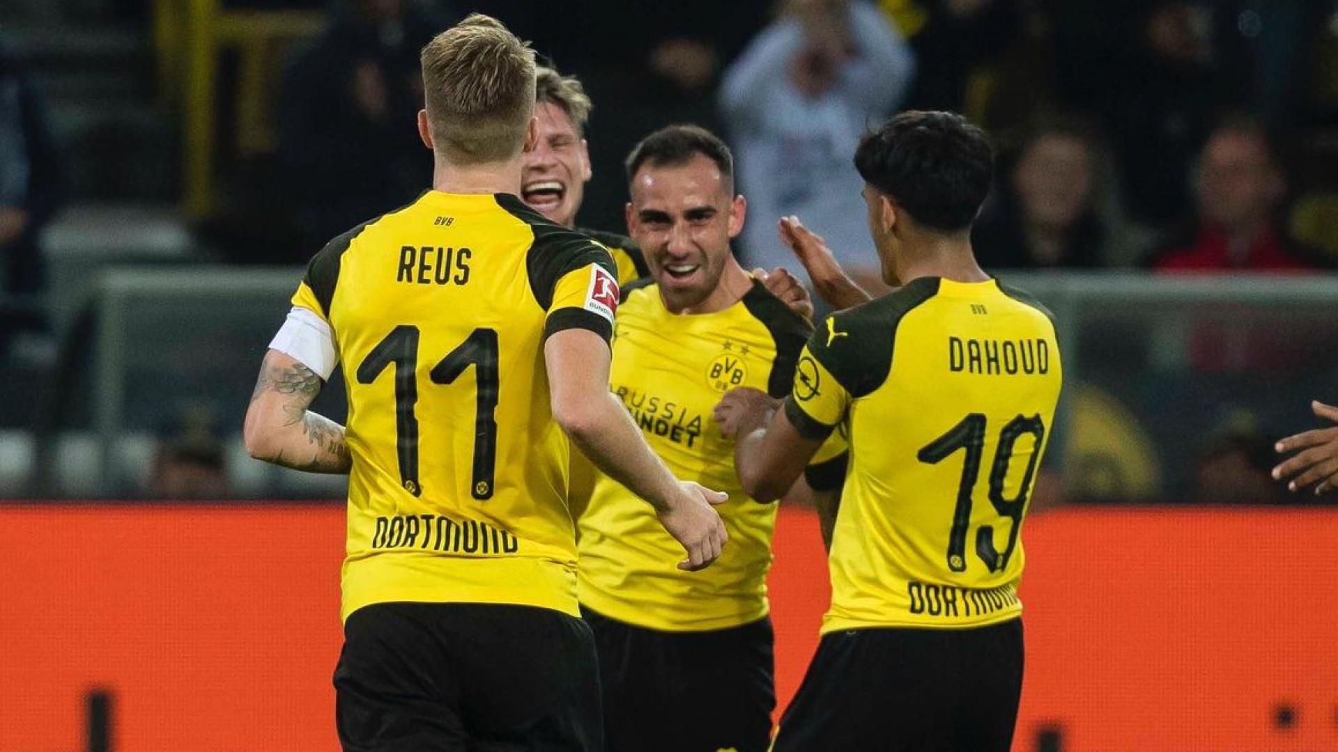 Borussia Dortmund vence e é líder provisório da Liga alemã