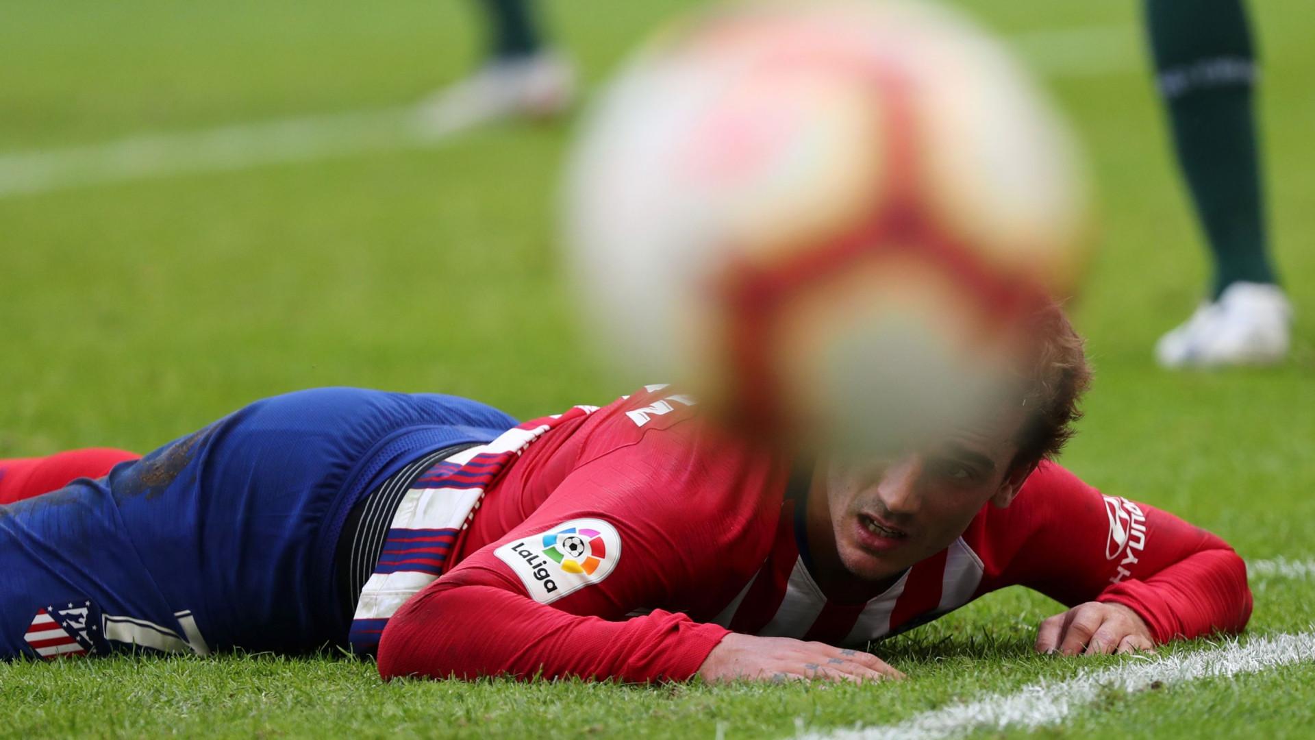 Atlético empata no arranque da 4.ª ronda. Gelson não saiu do banco