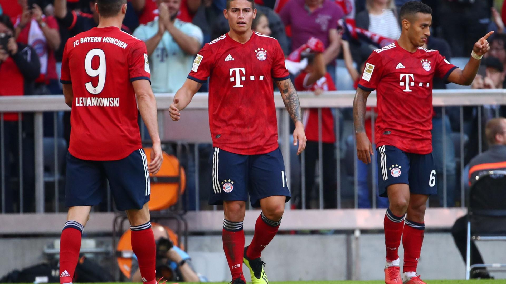 Bayern 'bate' Lerverkusen antes da visita à Luz