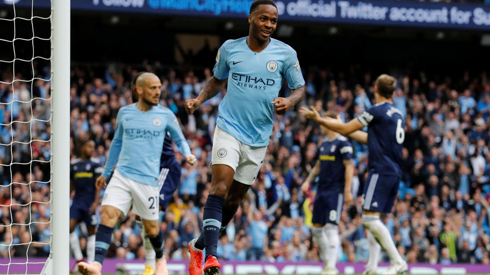 Man. City aplica 'chapa' três na receção ao Fulham