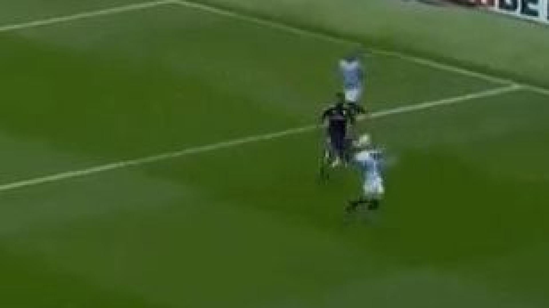 Bernardo Silva não marcou, mas impressionou com domínio de bola exímio