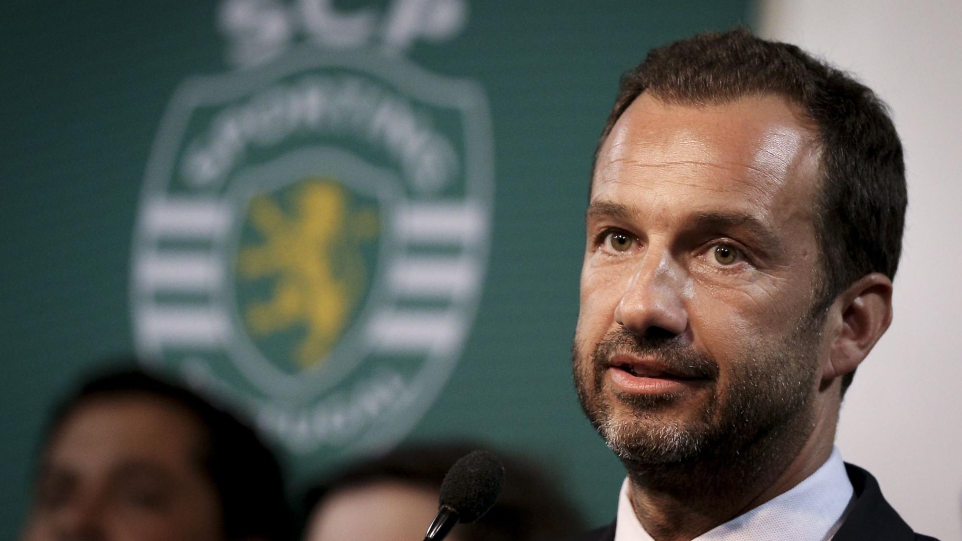 Presidente do Sporting foi ouvido hoje no DIAP