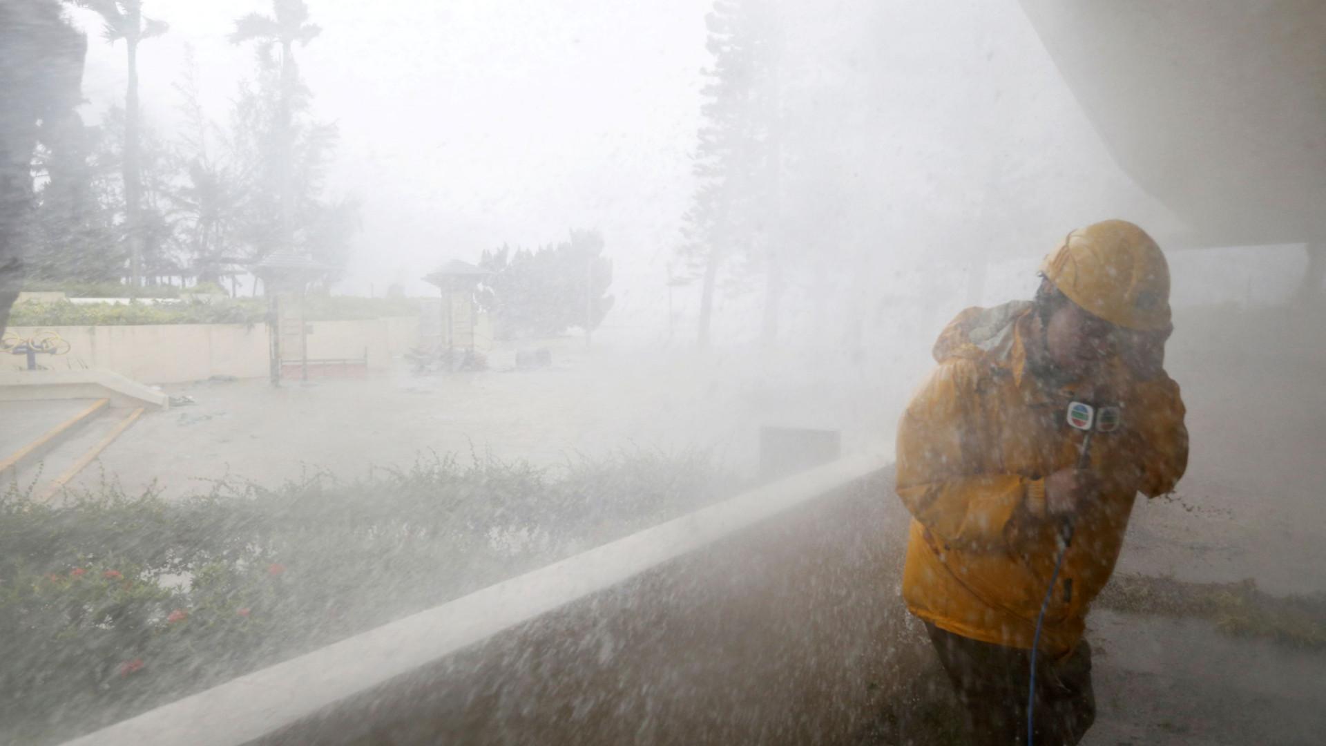 Autoridades de Macau reduzem para 8 o sinal de alerta de tempestade
