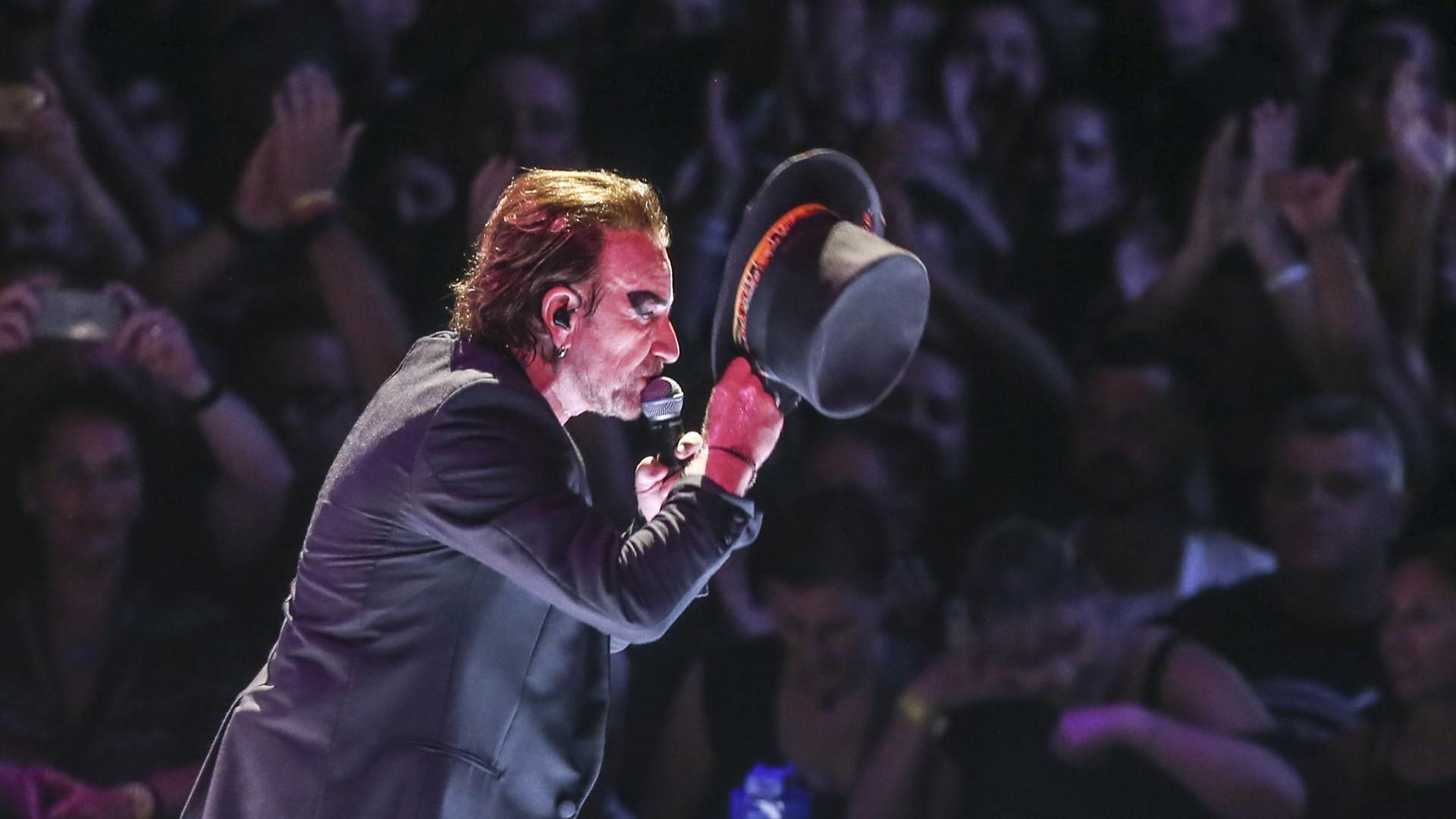 U2 tentam homenagear Portugal, mas acabam por enfurecer os portugueses