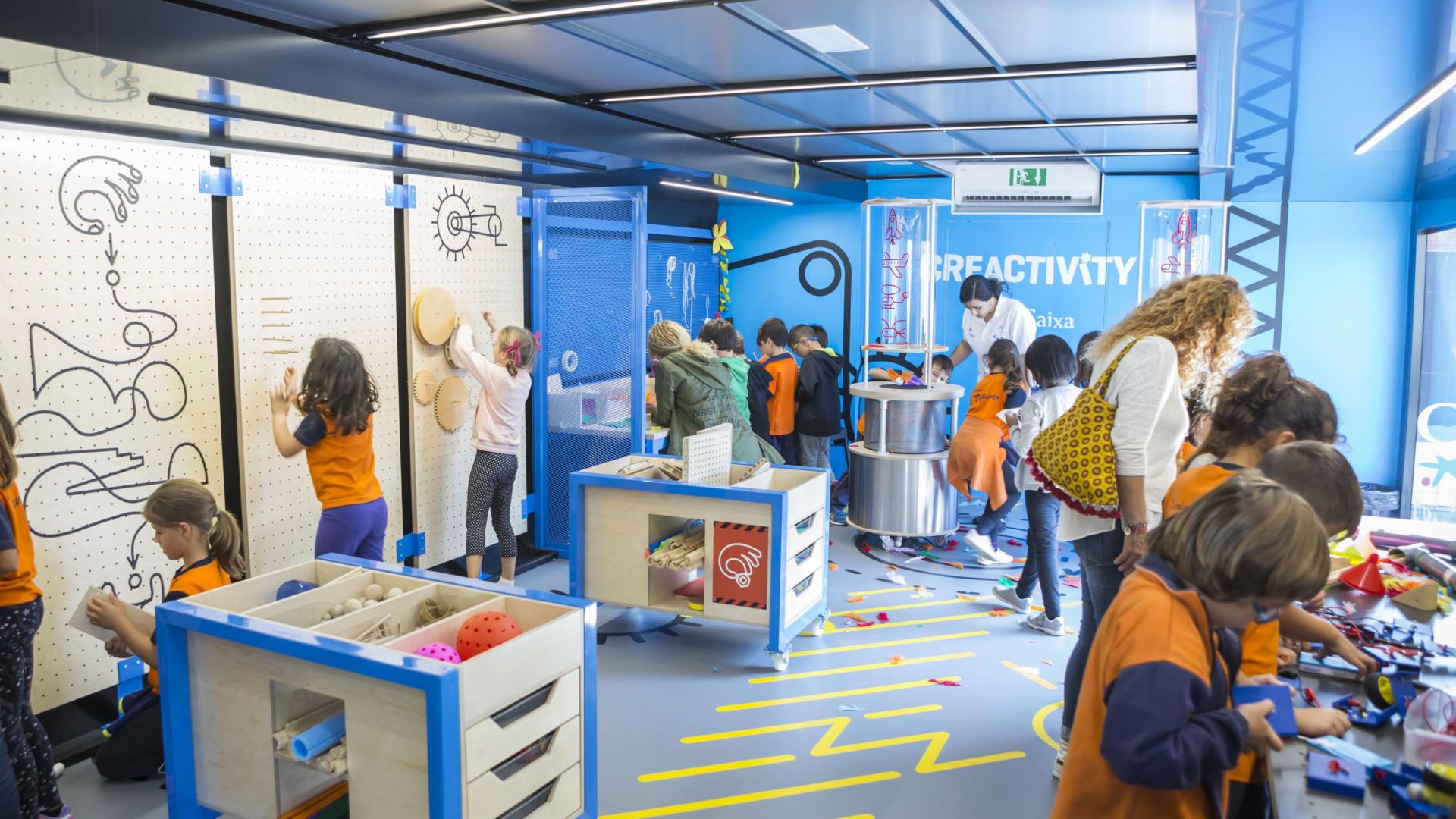 """Fundação """"la Caixa"""" traz projeto educativo 'Creactivity' a Portugal"""