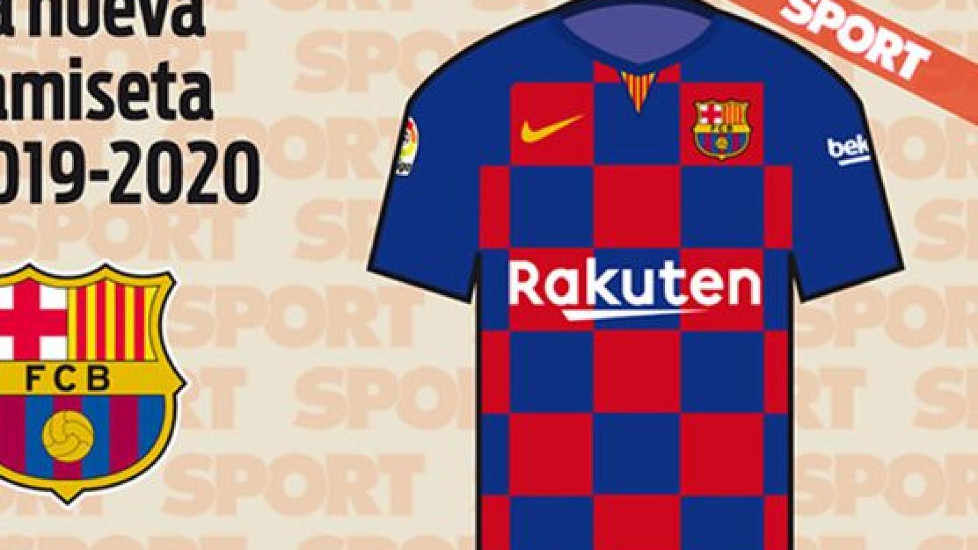 """Próxima camisola oficial do Barcelona promete ser """"revolucionária"""""""
