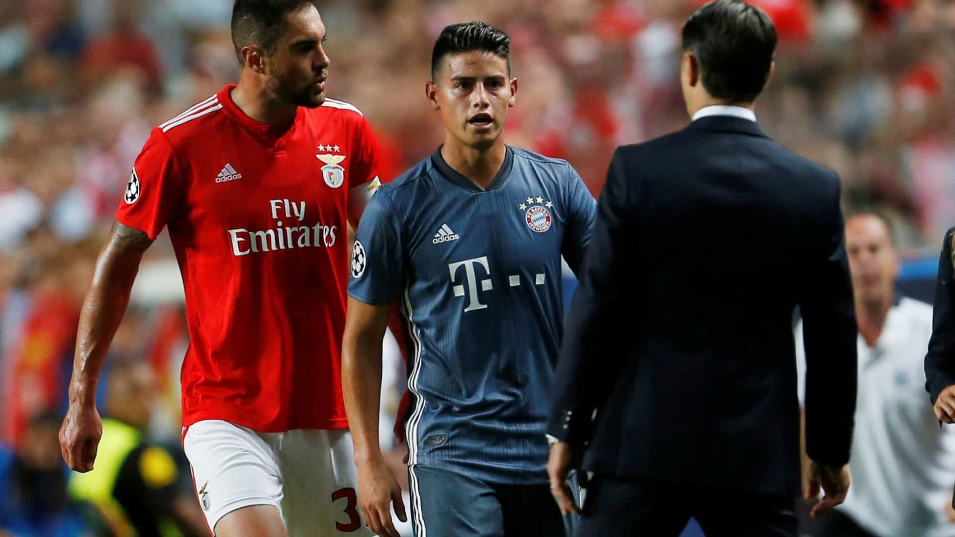FC Porto reage ao polémico gesto de James na Luz