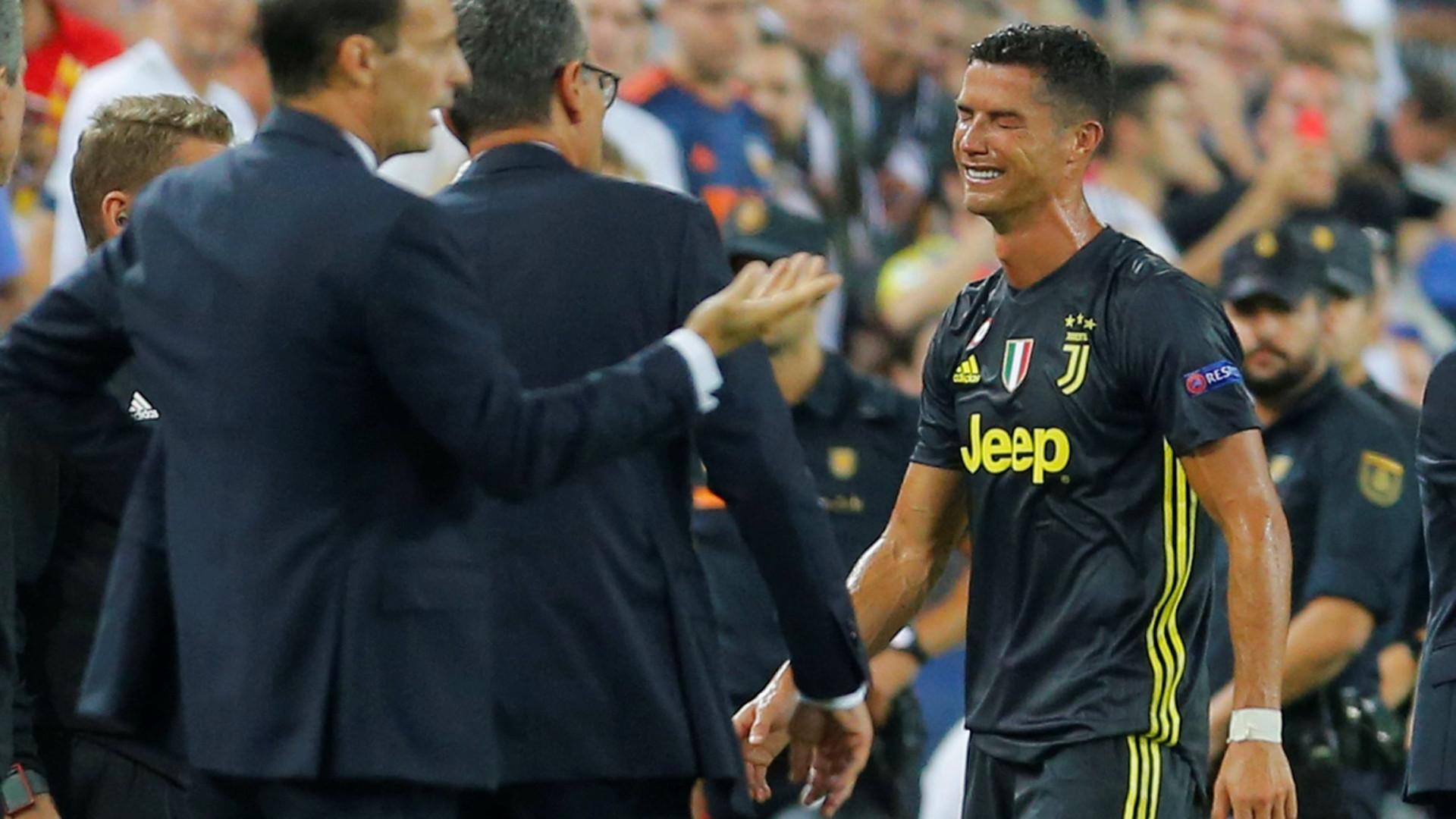 Cristiano Ronaldo com sentimento de injustiça e de perseguição