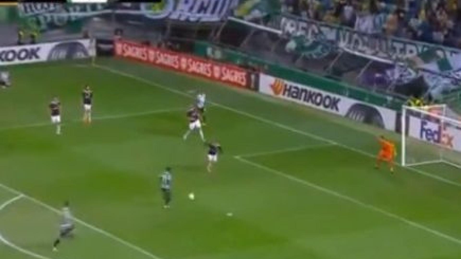 Jovane estreou-se na Europa e marcou um golo à velocidade 'TGV'