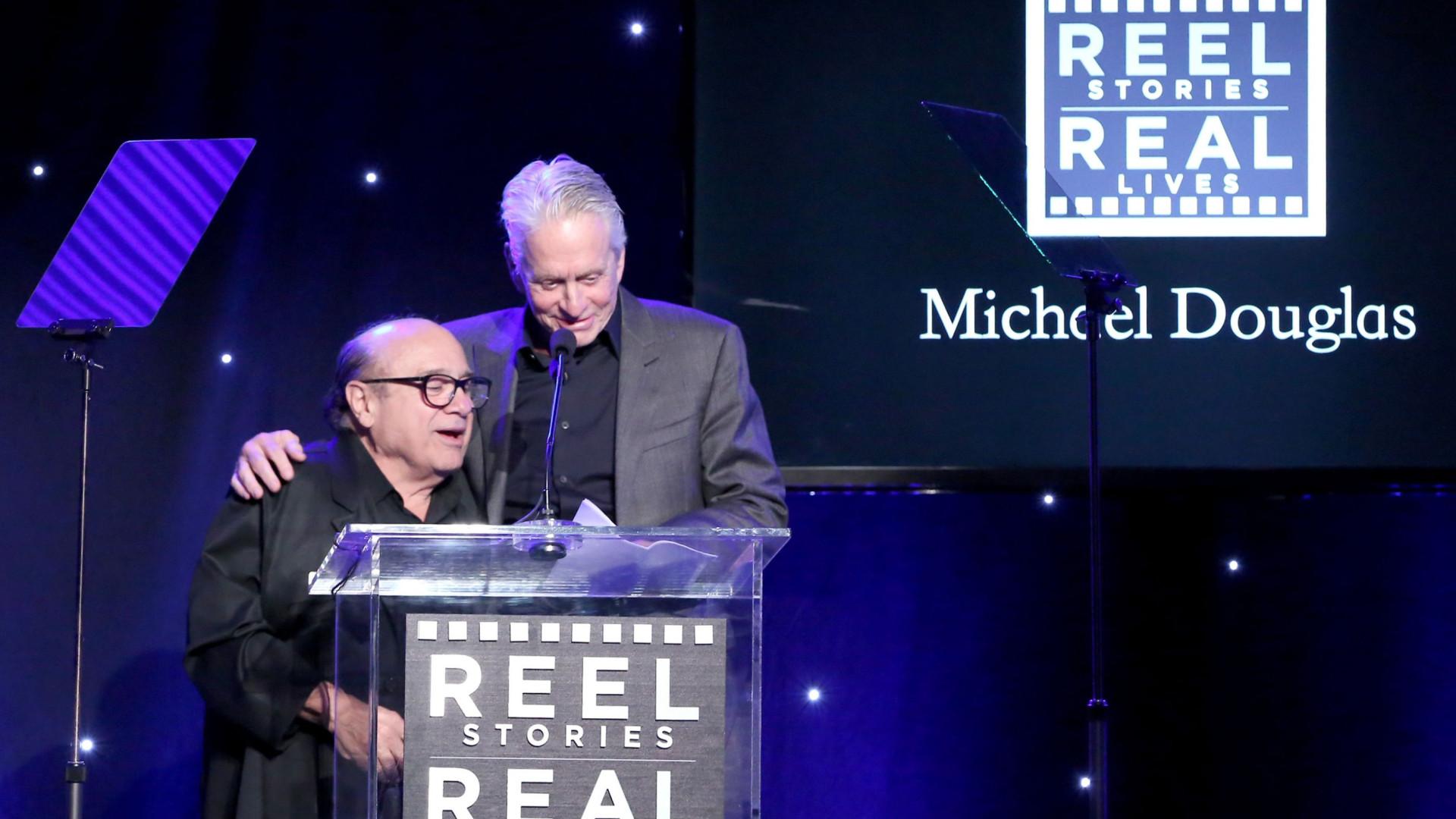 Danny DeVito conta que salvou a vida a Michael Douglas