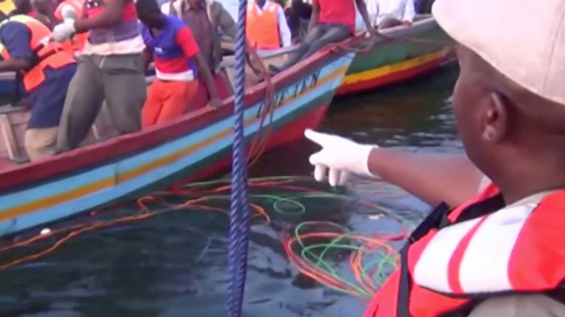 Número de mortos em naufrágio na Tanzânia sobe para 170