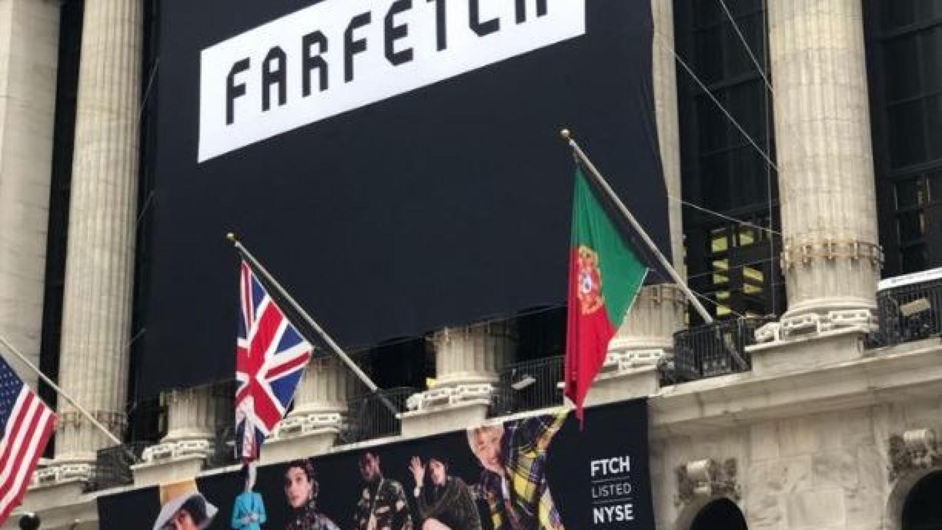 Em estreia 'louca', Farfetch disparou 42% e levou Portugal a Wall Street