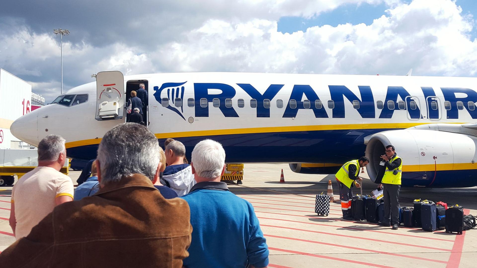 Ryanair lança mais uma campanha de descontos (e vai durar uma semana)