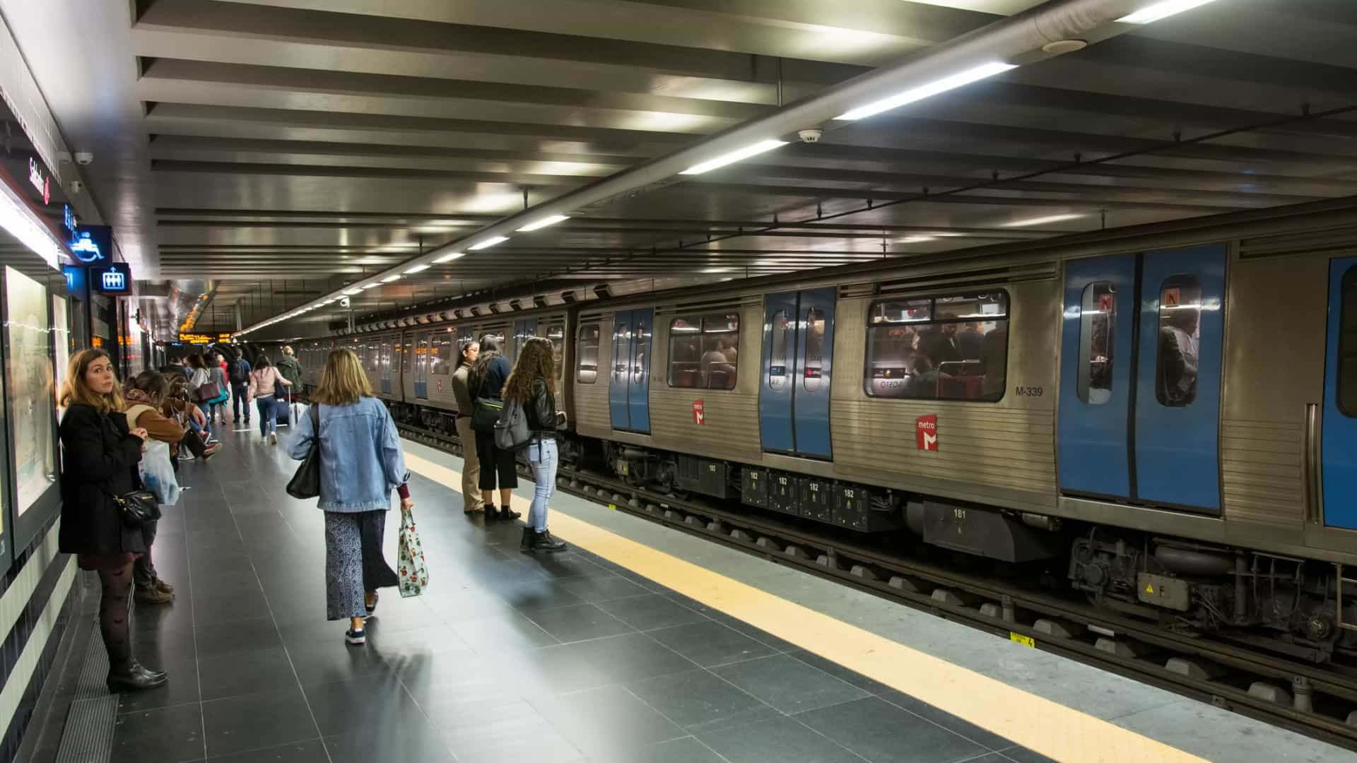 Metro de Lisboa marca nova greve para primeiro dia da Web Summit