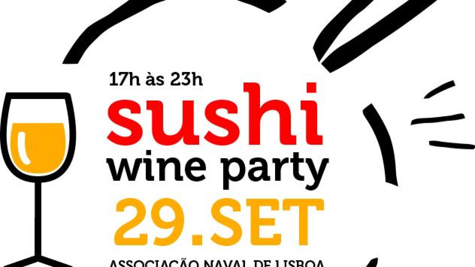 Sabores orientais e vinhos portugueses: Sushi Wine Party é já este sábado