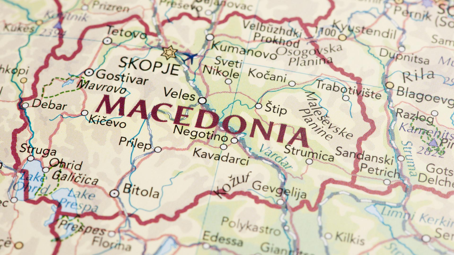 Macedónia prolonga estado de emergência nas fronteiras até junho de 2019