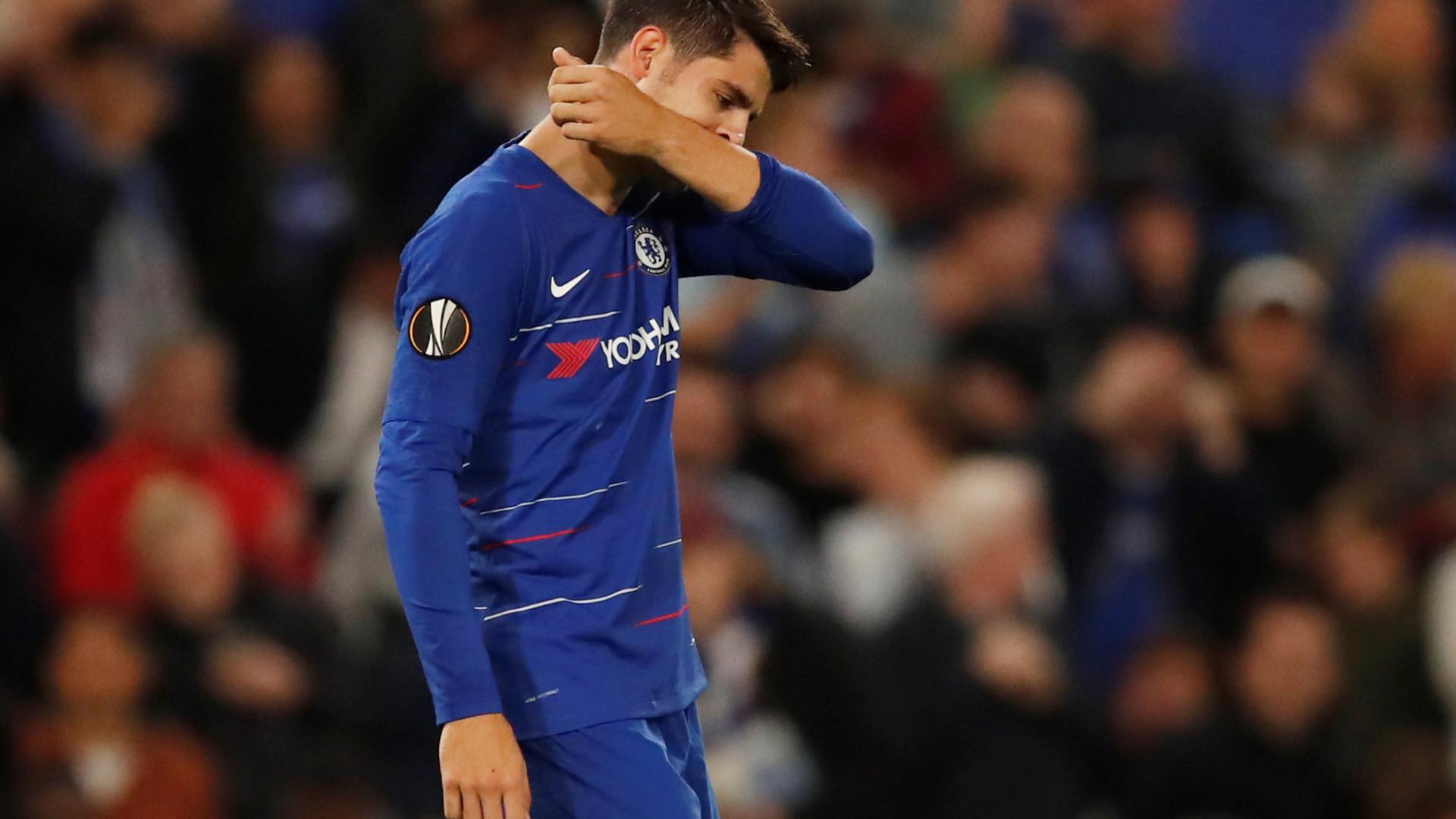 Morata 'oferece-se' ao Barcelona para o lugar de Luis Suárez