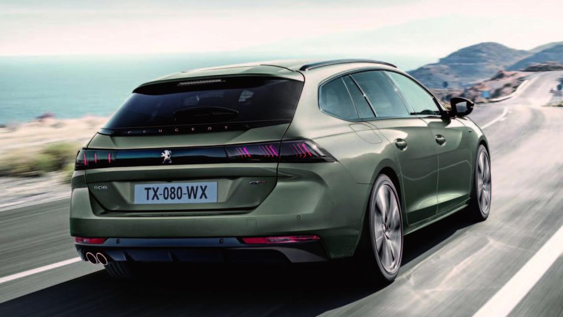 Peugeot lança novo 508 SW. Conheça os pormenores