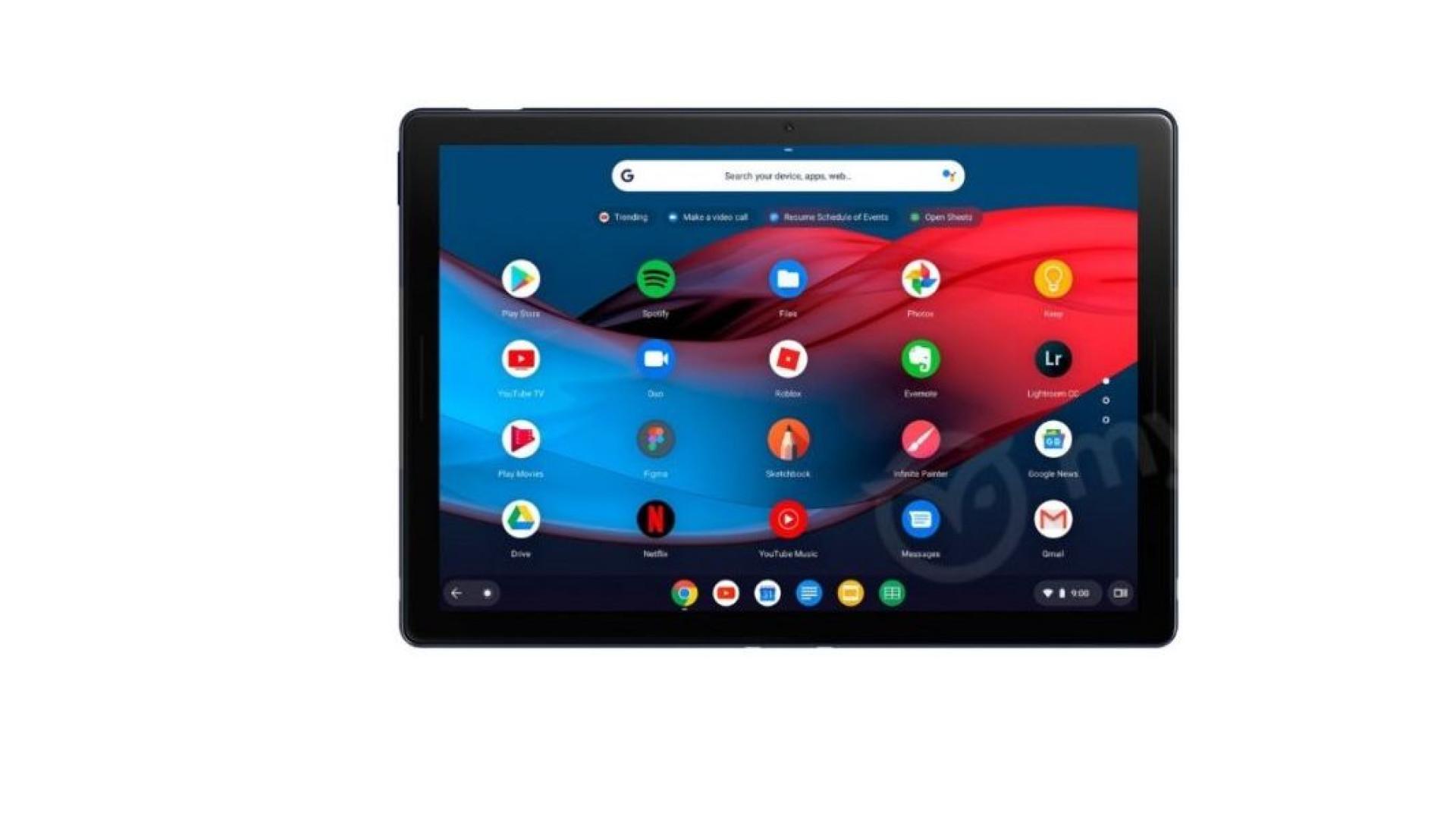 Fuga de informação revela novo tablet da Google