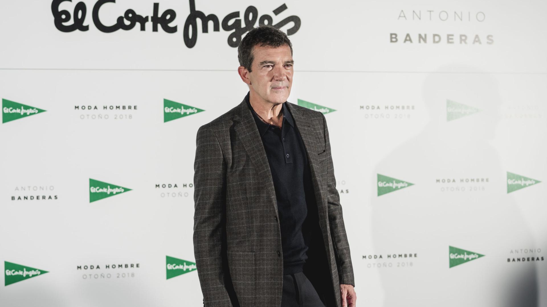 Antonio Banderas é a estrela da nova campanha de homem do El Corte Inglés
