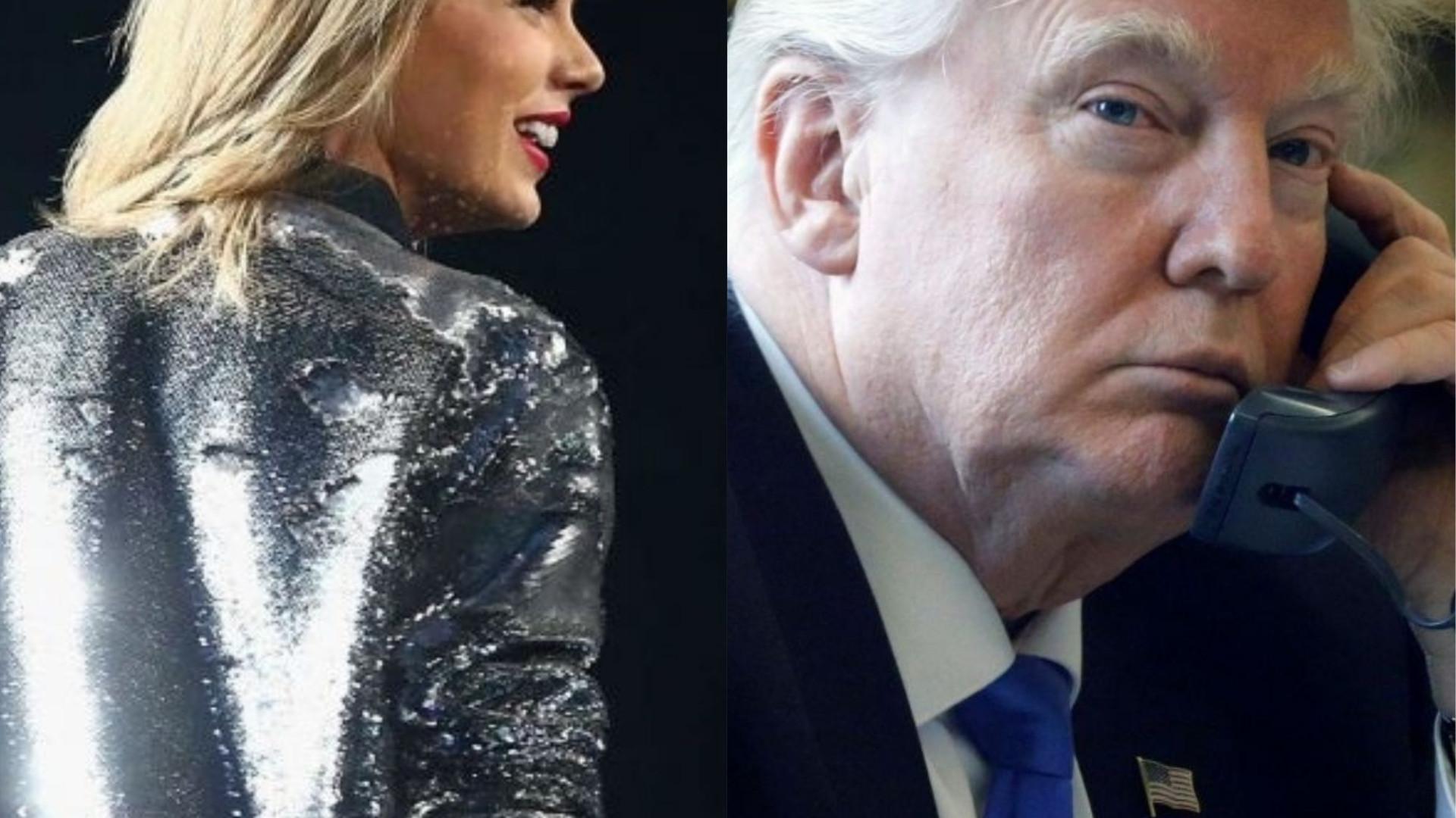 Trump reage às palavras de Taylor Swift e 'ataca' cantora