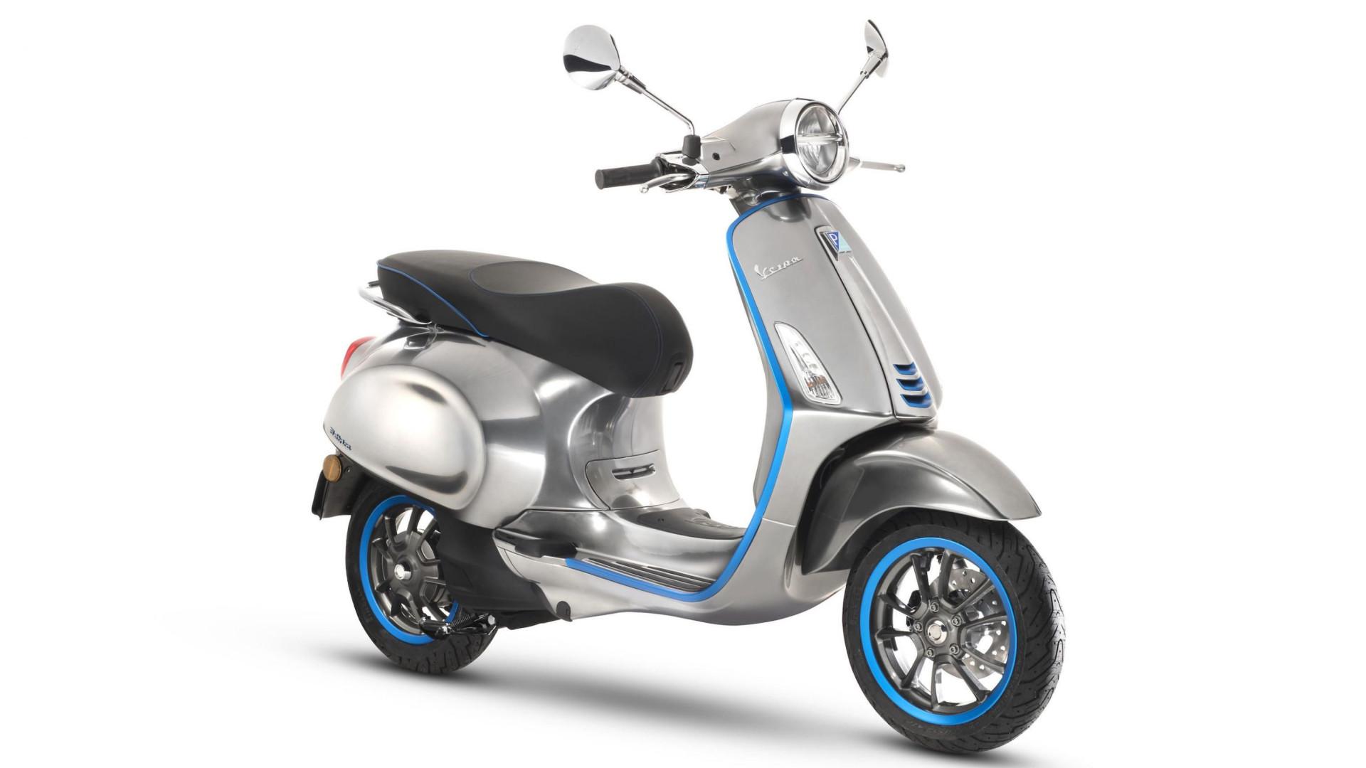 Vespa lançou a sua primeira mota elétrica. Saiba quanto custa