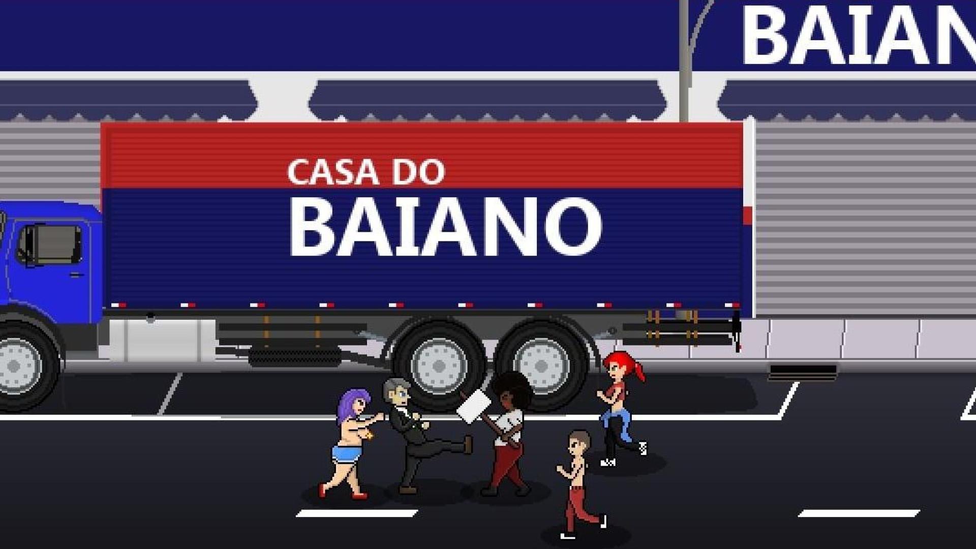 Bolsonaro é protagonista de jogo violento em que elimina minorias