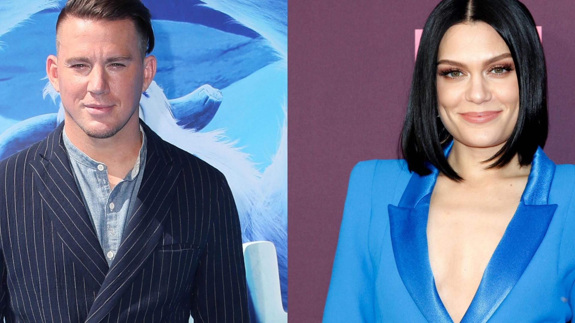 Jessie J pode ter confirmado romance com Channing Tatum